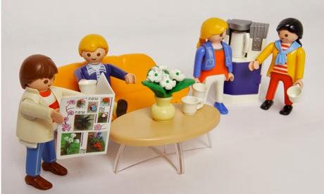 Coleção dos anos 70 da Playmobil.