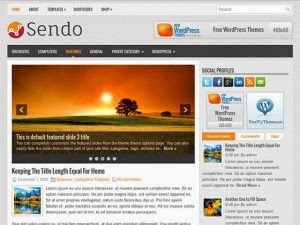Sendo - Free Wordpress theme