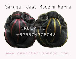 Sanggul Jawa Modern
