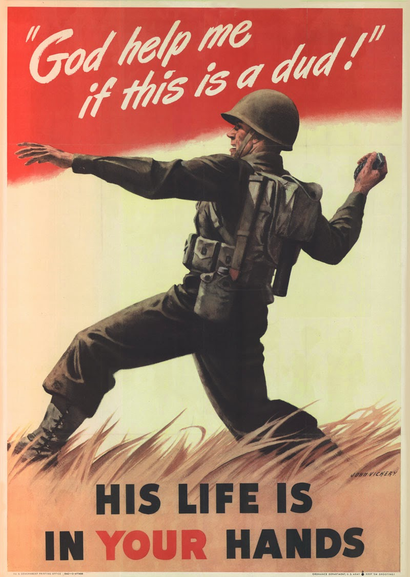 ww2 propaganda Propaganda in the war propoganda was used to arouse the citizen interest in the war, so it was most likely used before the us actually entered wwii, therefore it most likely went into wide usage in the 1940's through the end of the war.