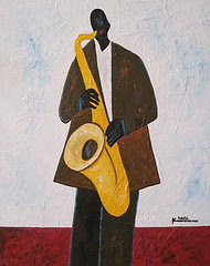 Saxophone Jammin&#39; (Sold)