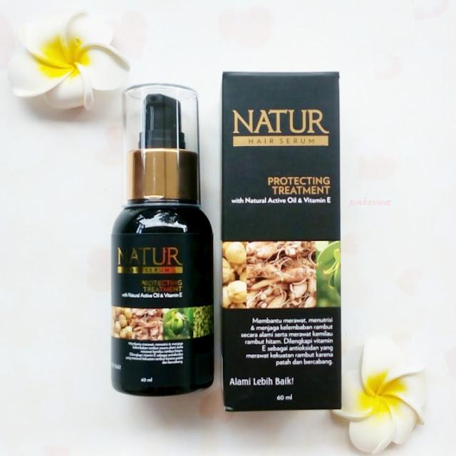 Natur Hair Serum Review Pinkuroom