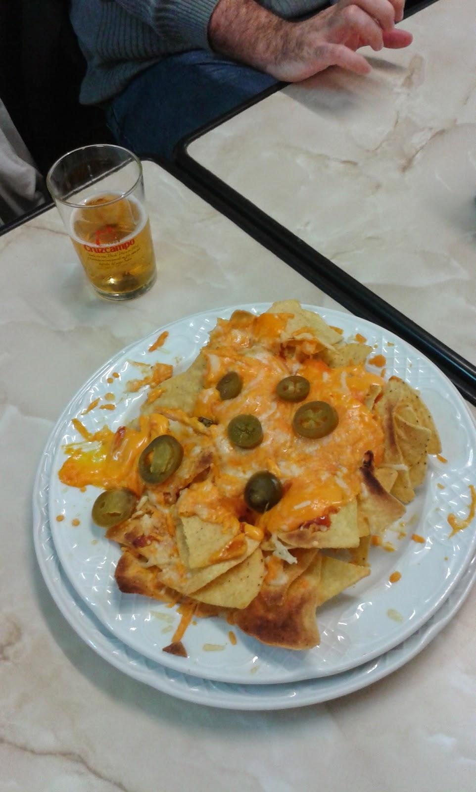 Nachos- Café bar Mega.
