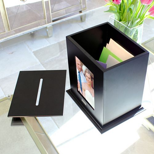 Photo Wedding Card Box
