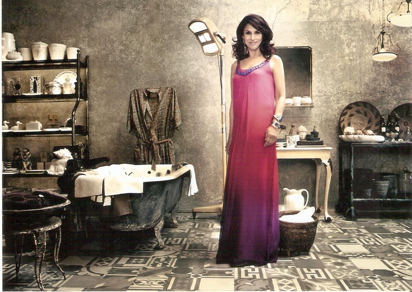 Shobhaa De In Vogue