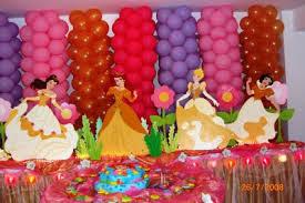 DECORACIONES CON GLOBOS CON LAS PRINCESAS decoracionesparafiestasinfantiles.blogspot.com