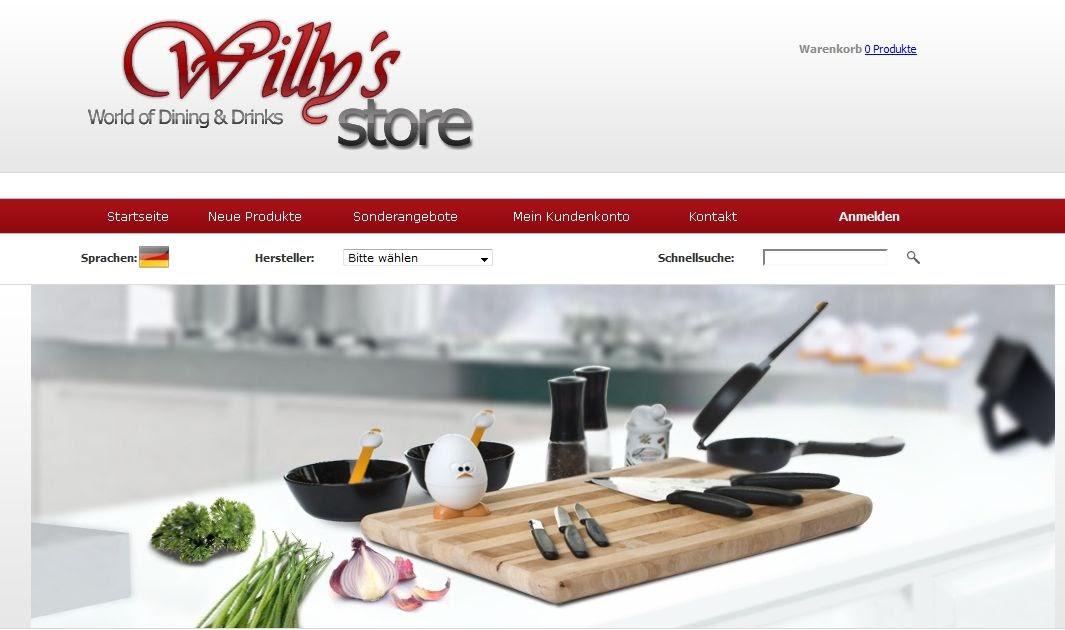 pfannen und mehr von willy 39 s store im test erdbeerchens. Black Bedroom Furniture Sets. Home Design Ideas