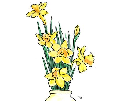 Daffodil by Yukié Matsushita