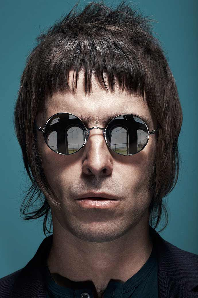 Liam Gallagher's sunglasses: Slip inside the mind of Pretty Green Eyewear - PG383