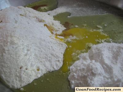 kulkul mix ready to knead