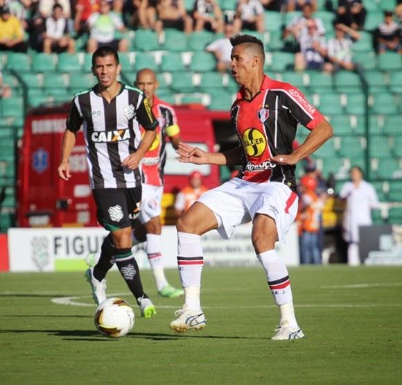 No jogo de ida da final, JEC fica no 0x0 com o Figueirense