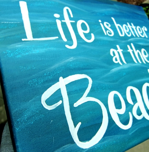 Easy Beach Paintings O...