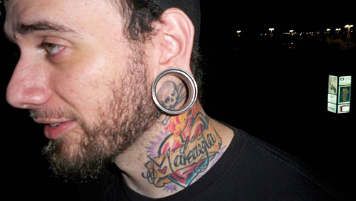 15+ Engaging Tattoos For The Neck For Men