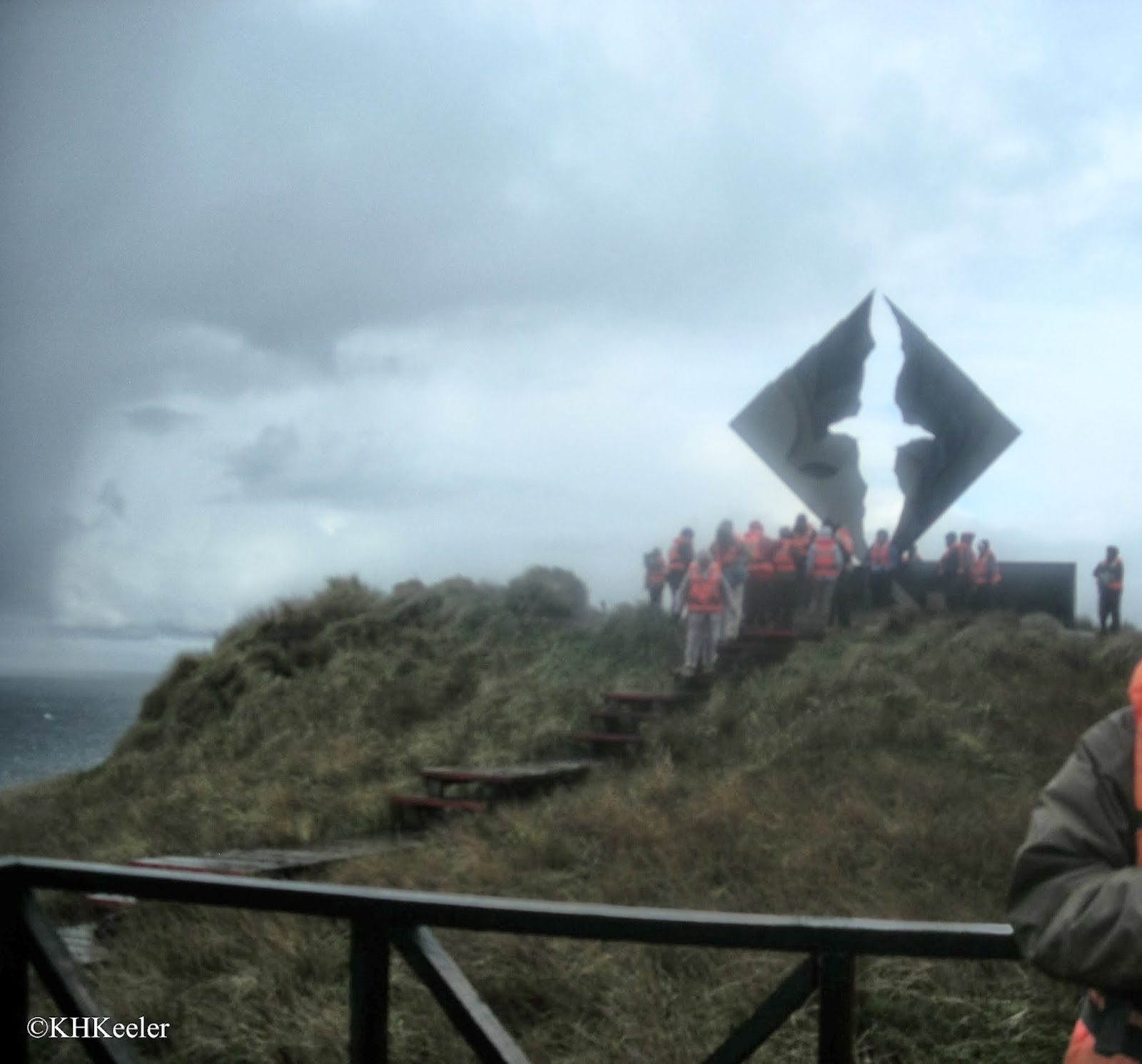 The Albatross memorial Cape Horn