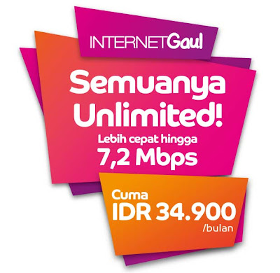 Internet Gaul dari AXIS Unlimited Internet