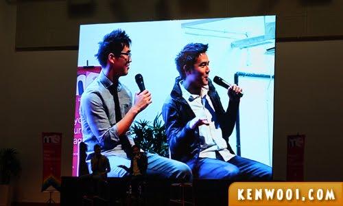 wongfu malaysia on stage