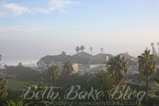 view from the president hotel, bantry bay, south africa, betty bake, blogger, hotel view, cape town, the president, protea hotel
