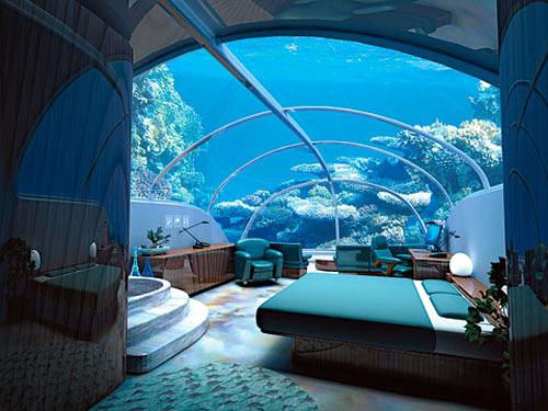 Biojunkies hotel bajo el agua for Imagenes de hoteles bajo el agua