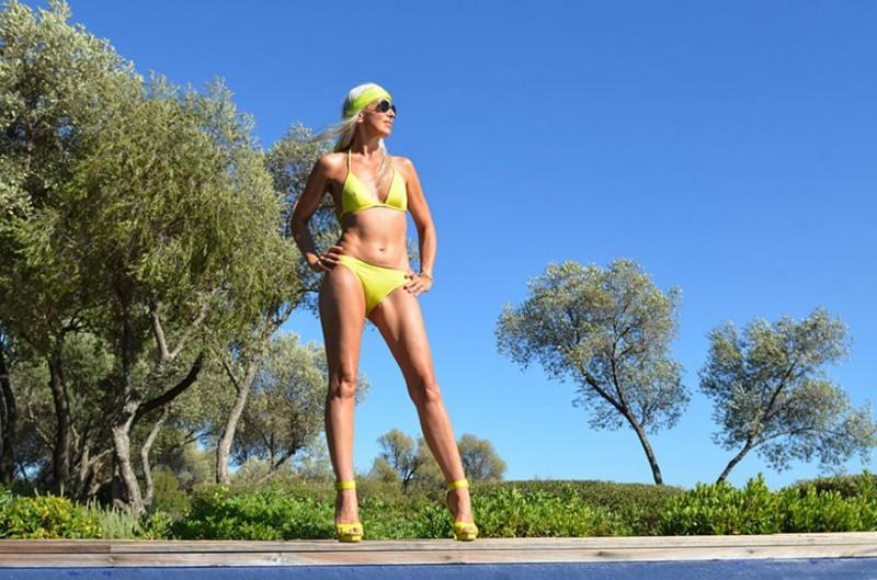Ясмина Росси - 59 летняя модель