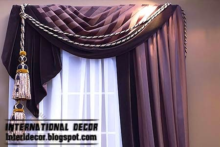 Purple Curtain, Best Curtains Decorating Ideas 2014