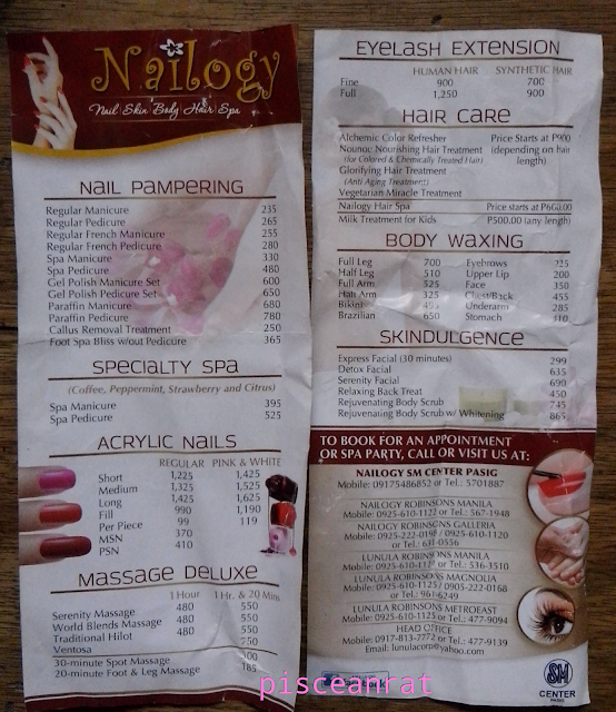 nailogy list of services, nailogy price, nailogy branches,