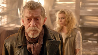 The War Doctor meets The Moment