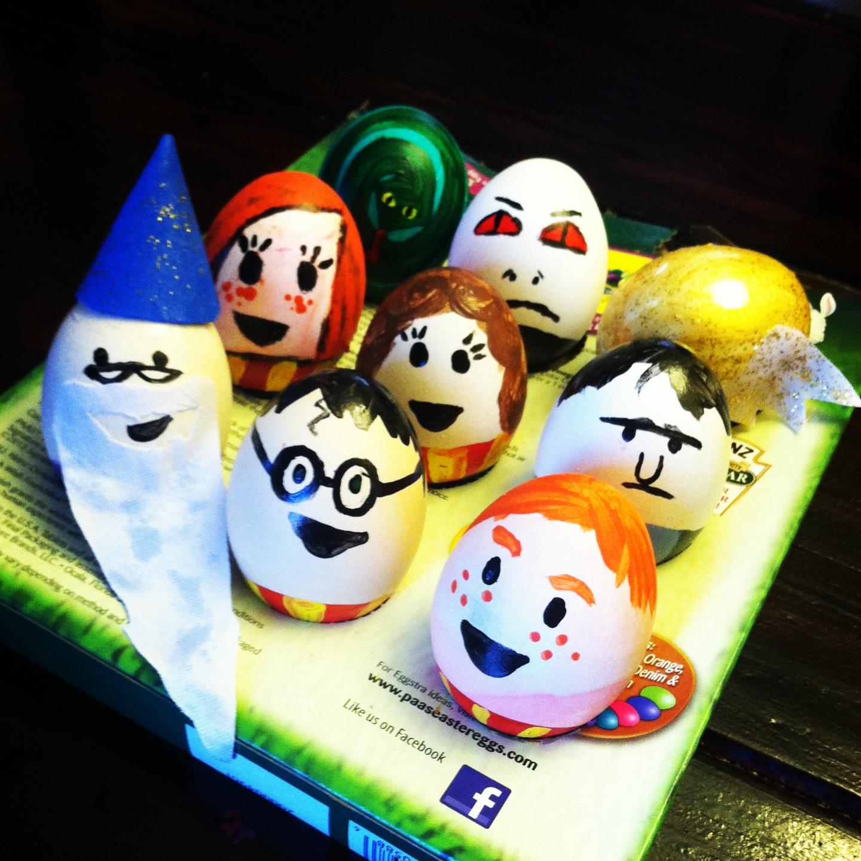 Harry Potter Book Easter Eggs : Superheroes