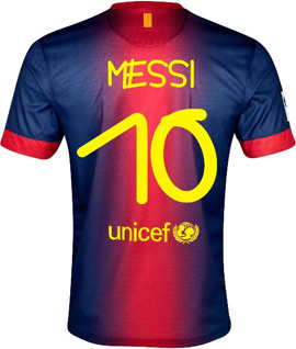 camisa Barça tipografada por Anna Vives Trofeu Joan Gamper FC Barcelona x Santos autografados pelos jogadores e leiloados no eBAY