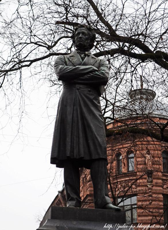 Санкт-Петербург, ноябрь, Пушкин