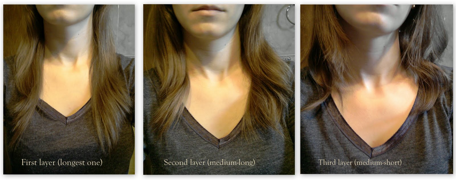 ... and Fashion: How to cut your own hair: layers & side swept bangs