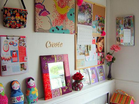 Gil patchcolagem telas e pain is canecas com fuxico for How to make creative things for your room