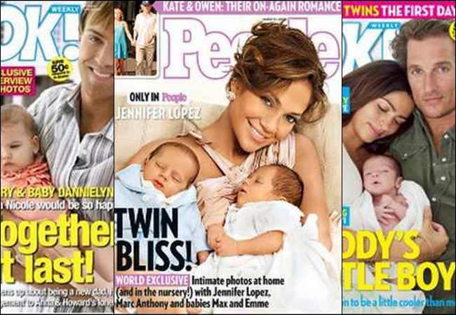 14 Foto Bayi Selebritis Hollywood Termahal di Dunia