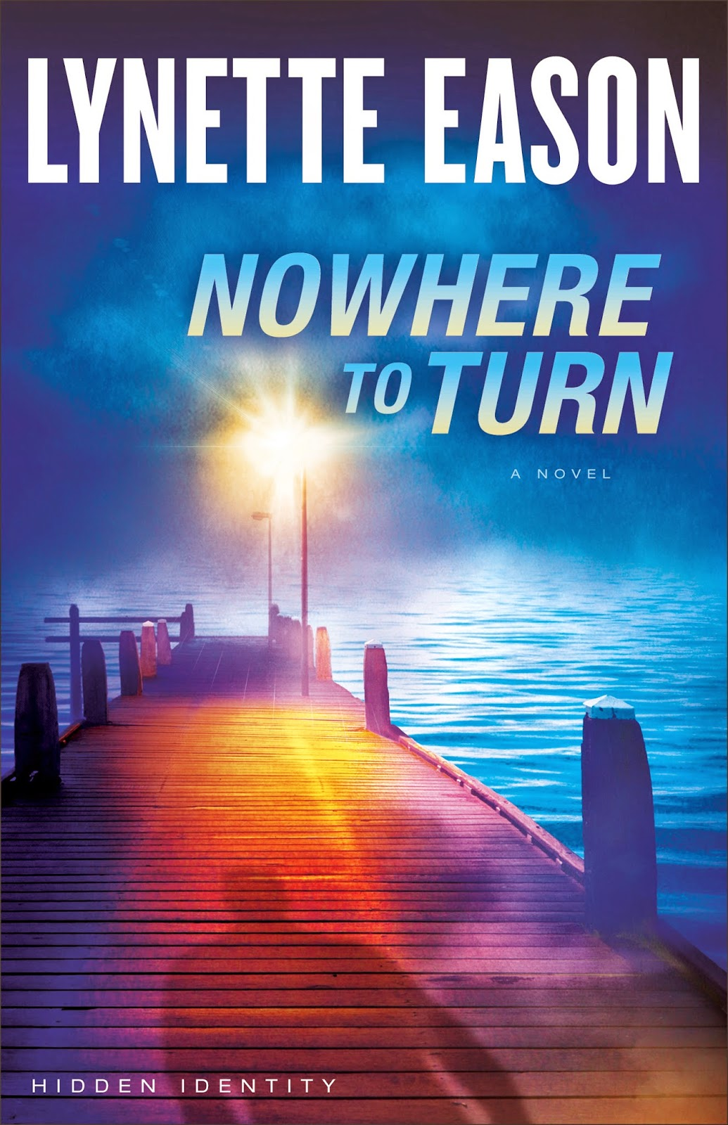 book review of Nowhere To Turn by Lynette Eason (Revell) by papertapepins