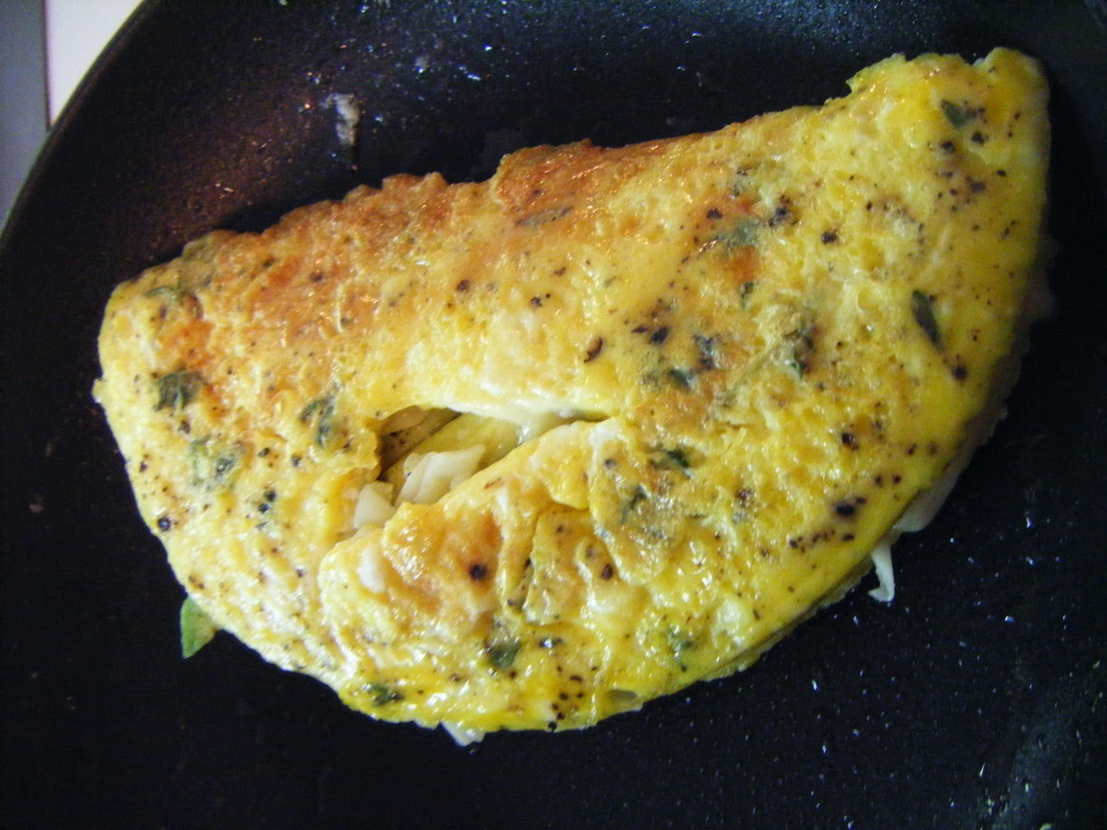 Southwestern Omelet With Easy Guacamole And Salsa Recipe — Dishmaps