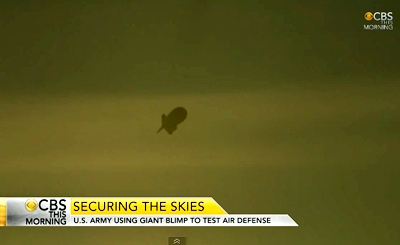 High-Tech Blimp To Spy On Americans?