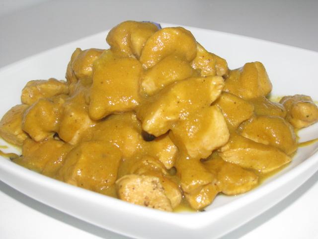 Pollo al curry for Como cocinar pollo al curry