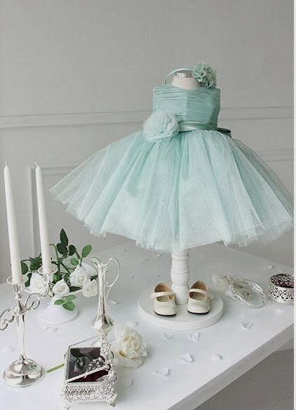 Candy Green Princess Dress