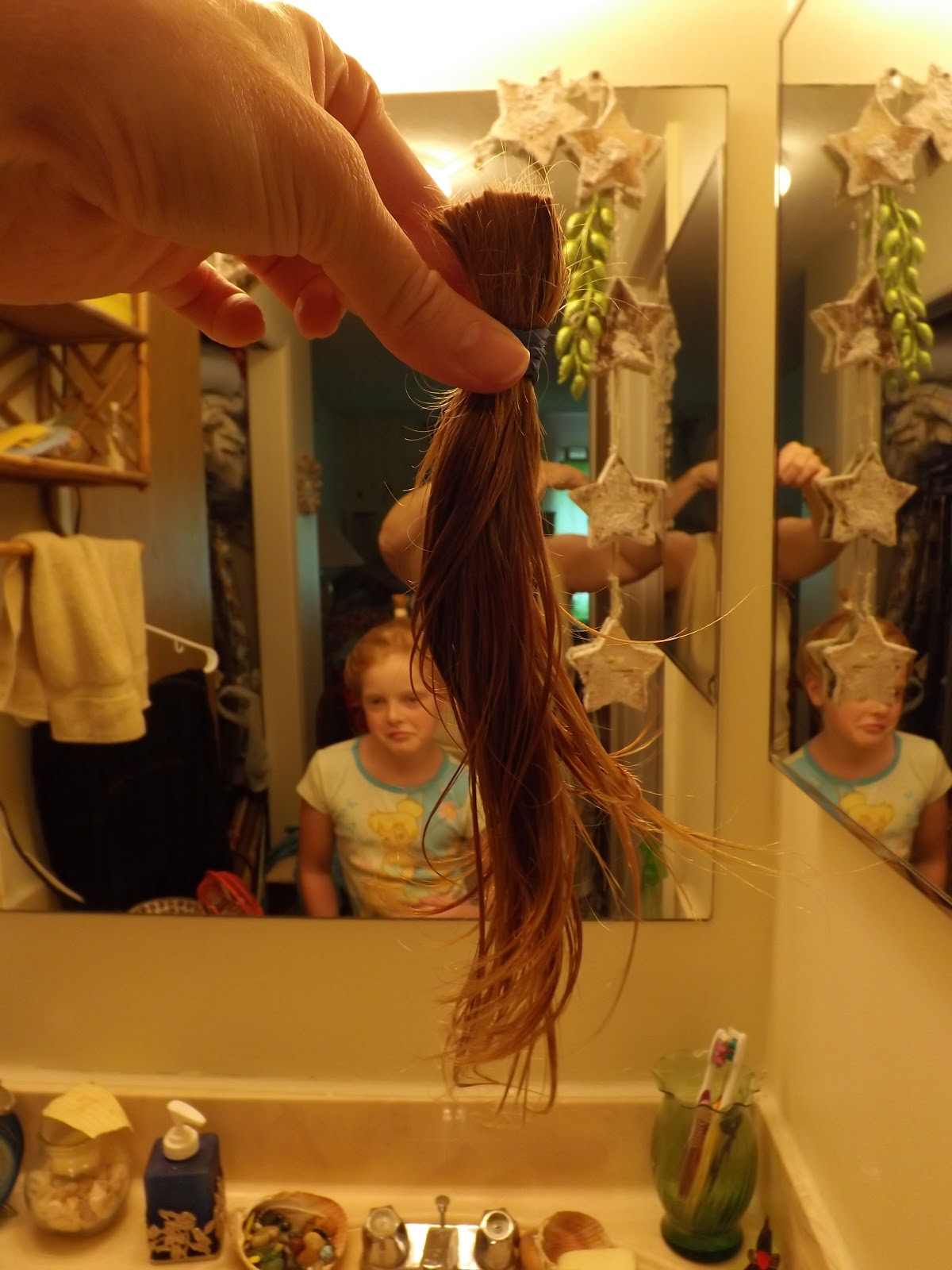 Debslubbing: Cutting your own curly hair