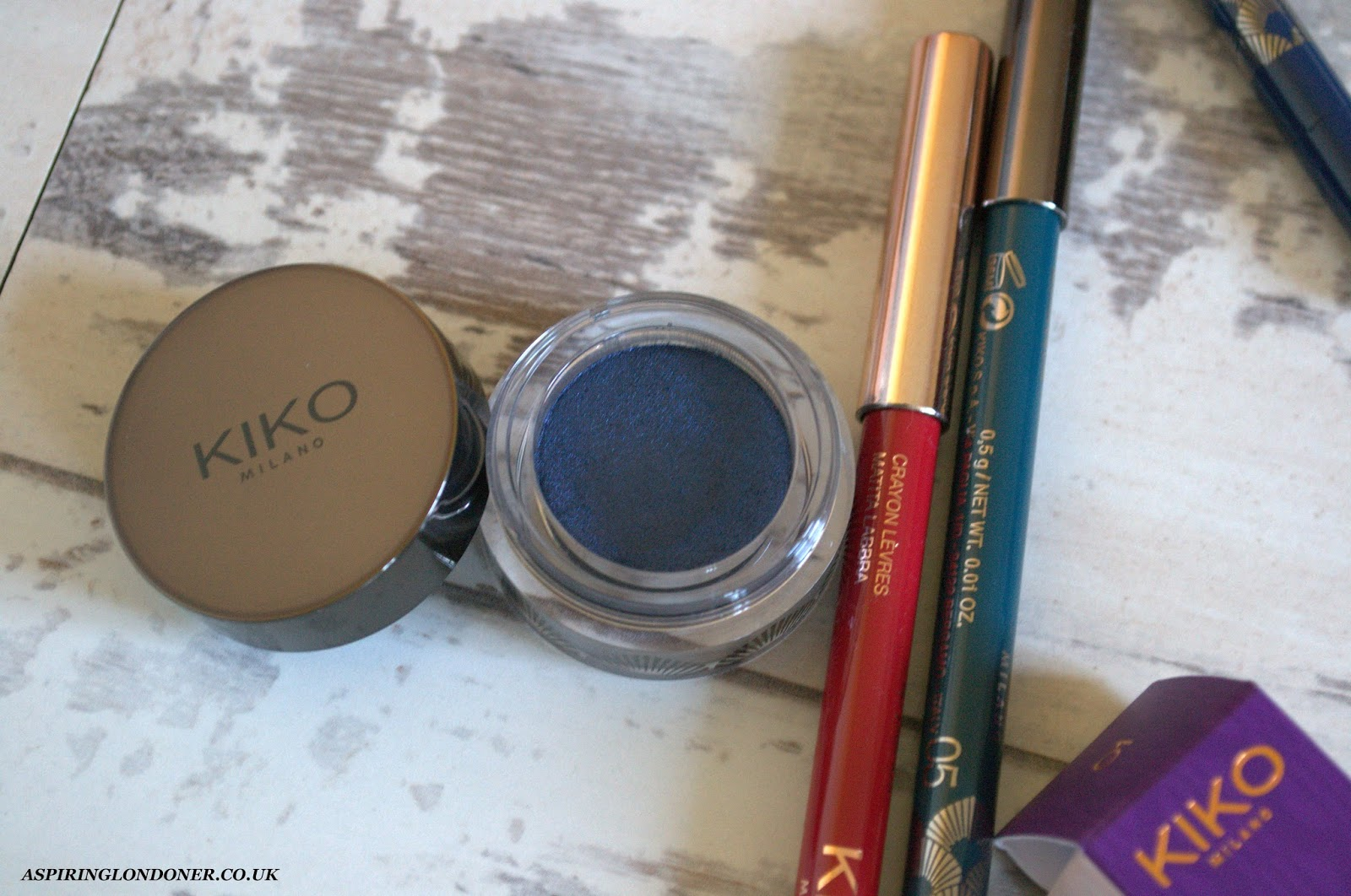 Kiko Rebel Romantic Metallic Shine Eyeshadow Review - Aspiring Londoner