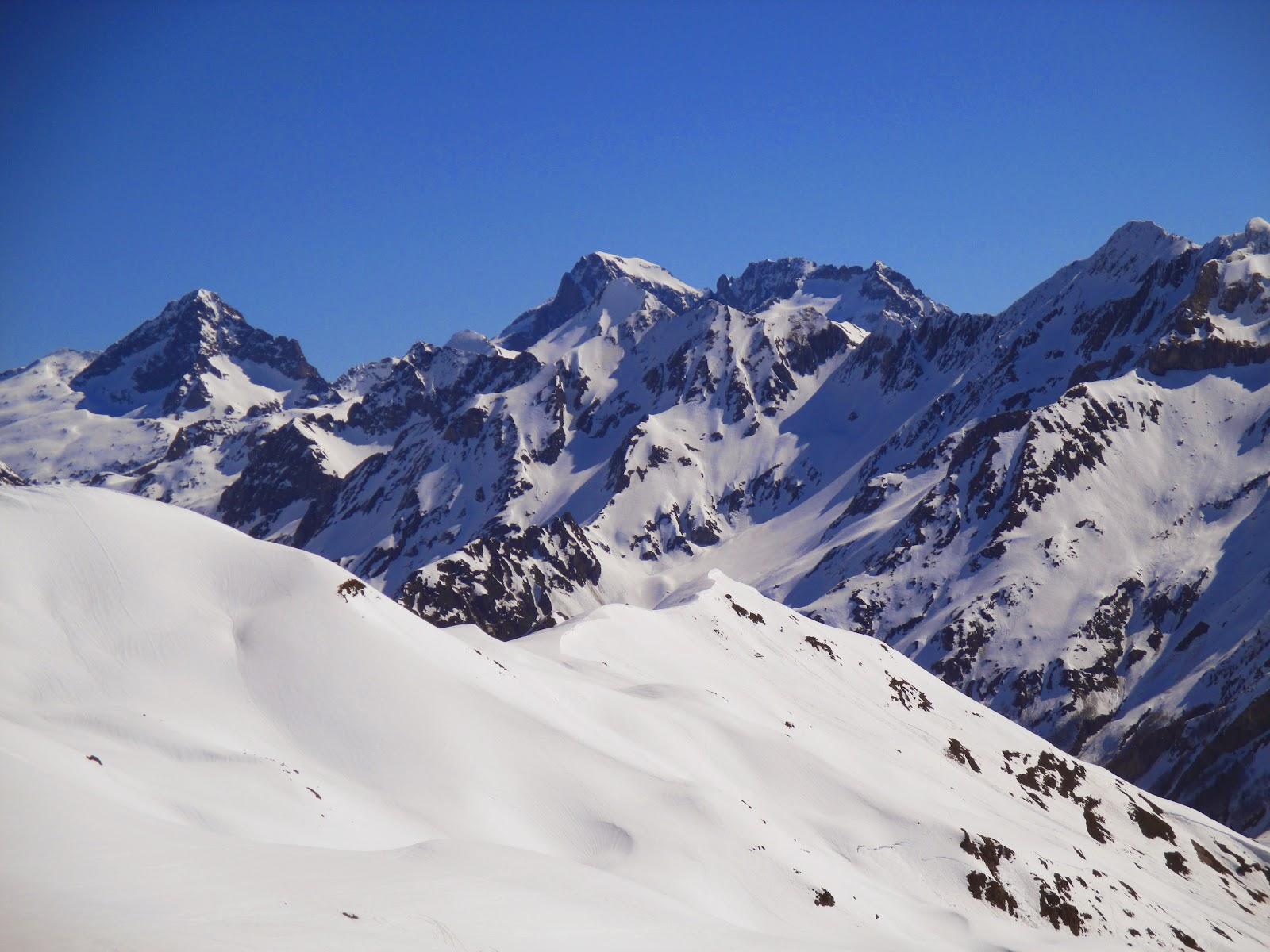 Puerto de Portalet: Pico Peyreget (2478m)