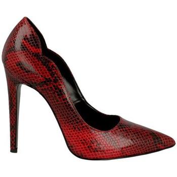 scarpe rosse pitonate