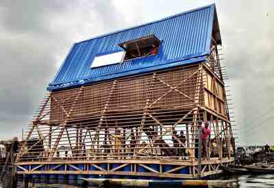 Nlé makoko community building team makoko floating school nigeria