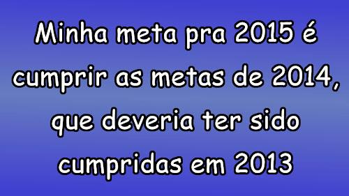 metas para 2015