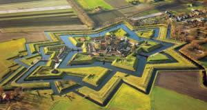 Fortaleza Bourtange - Groningen, Holanda