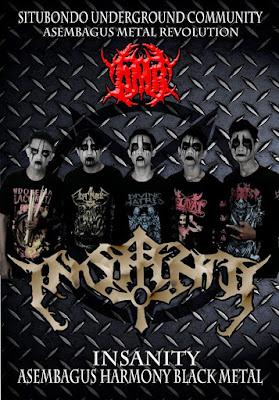 Insanity Band Gothic Metal Situbondo - Jawa Timur foto personil logo artwork wallpaper