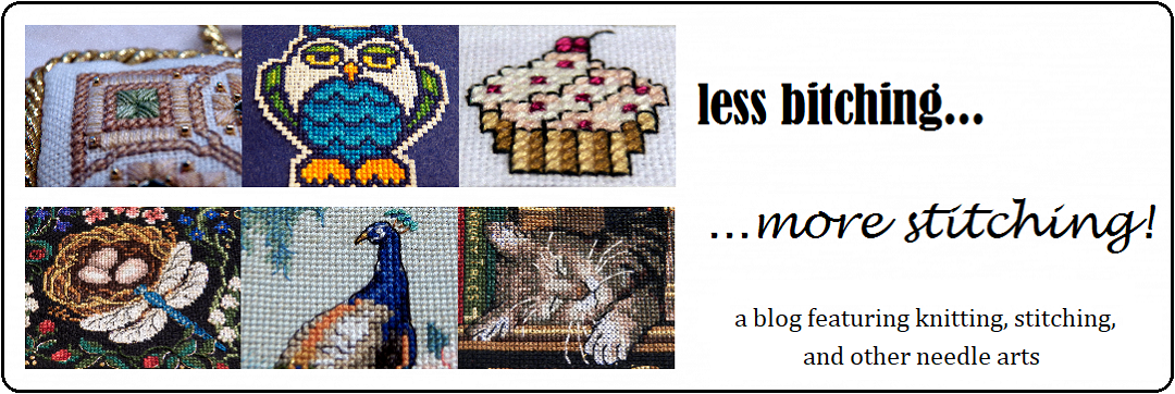 Less Bitching, More Stitching! - A Fiber Arts Blog