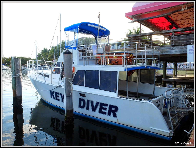 Keys Diver bateau Plongée et Snorkeling à Key Largo