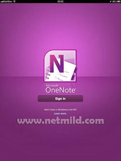 Oneote For iPad Download Microsoft OneNote untuk iPad
