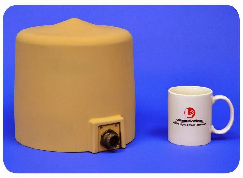 Антенная головка радиопеленгатора с понижением частоты DF-80A
