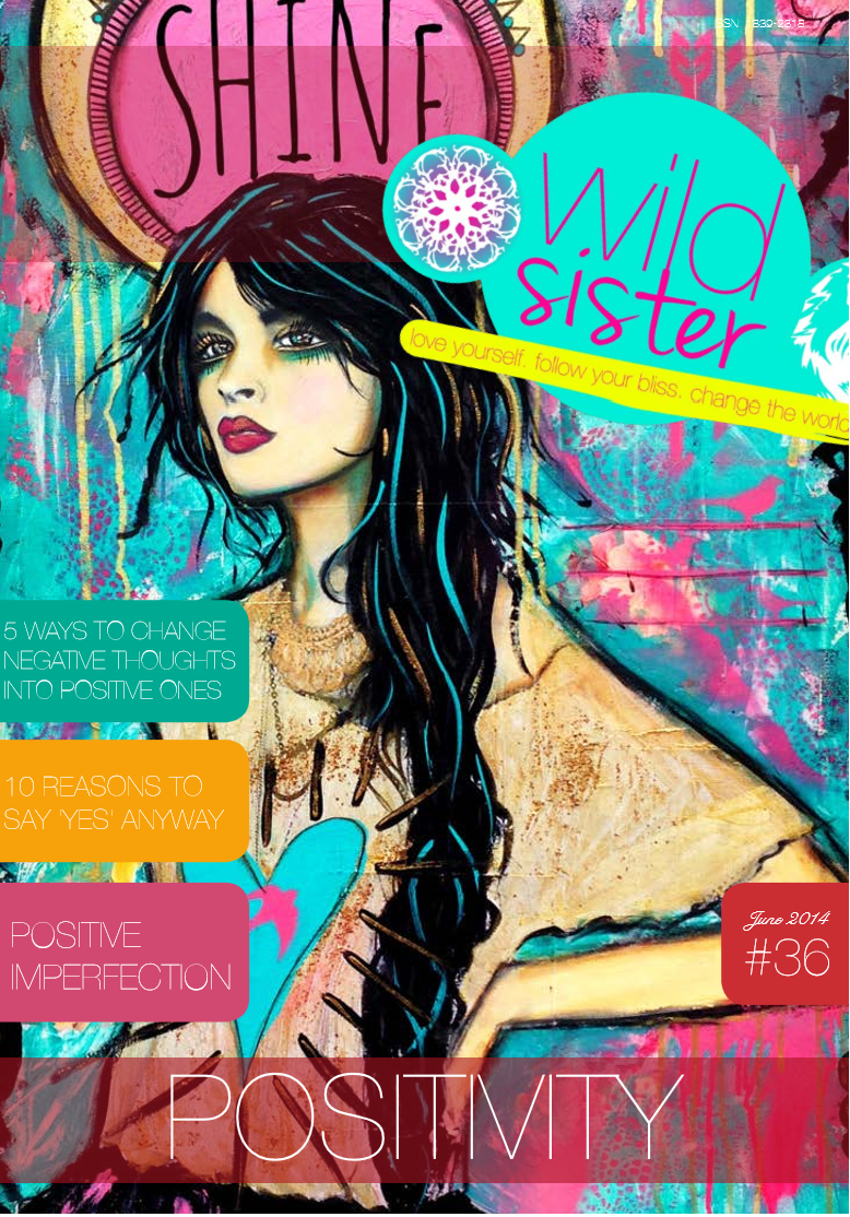 Published on Wild Sister Magazine June 2014 cover